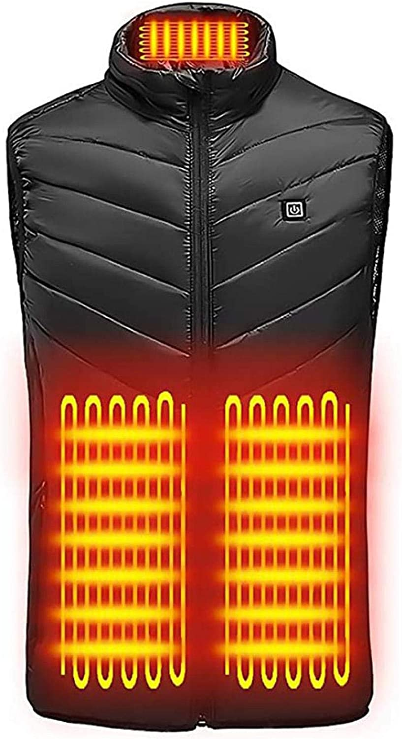 5V Heated Vest USB Charging Body Cheap mail order shopping Clo Same day shipping Warmer Electric Lightweight