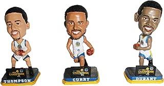 Golden State Warriors 2017 NBA Champions Mini Bighead Bobble 3-Pack