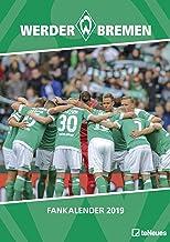 Werder Bremen 2019: Wandkalender Fußball