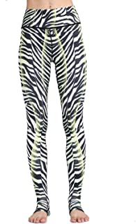 Whitewed Women's Animal Print Stretch Yoga Workout Pants Tights Leggings Clothes