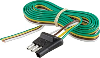 CURT 58348 Trailer-Side 4-Way  Trailer Wiring Harness with 48-Inch Wires, 4-Pin  Trailer Wiring