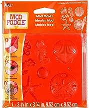 Mod Podge Mod Mold (3-3/4 by 3-3/4-Inch), 25121 Sea Life