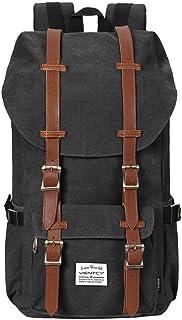Vintage Rucksack, VENTCY Canvas Rucksack Damen Herren Vintage Backpack Segeltuch Retro Studenten Rucksack Laptop Wasserabweisend Dayback für Freizeit Outdoor Reise, Rucksack Outdoor