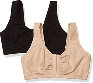Fruit of the Loom Women's Front Closure Cotton Bra