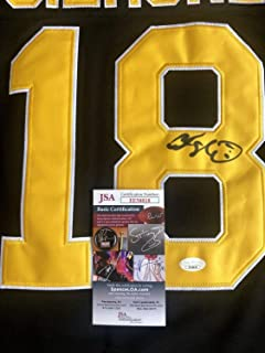 Happy Gilmore Adam Sandler Autographed Signed Jersey (Size XL) Boston Bruins JSA COA Proof Autographed Signed