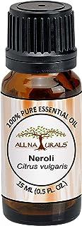All Naturals Neroli Essential Oil (India) 100% Pure Undiluted Therapeutic Grade - 10Ml