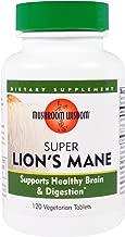 Grifron Maitake, Mushroom Wisdom, Super Lion's Mane, 120 Veggie Tabs - 2pc