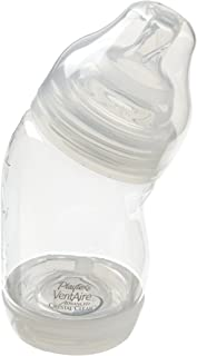 Playtex VentAire ADVANCED Crystal Clear BPA Free Wide 6 oz - 1 Pack (Discontinued by Manufacturer)