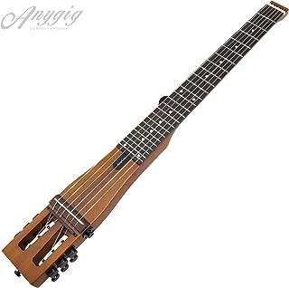 Anygig Agnse 6 Nylon Strings Full Scale Length 25.5 Inch Small Travel Guitar W/Backpacker