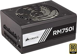 Corsair RM750i - Fuente de Alimentación (Completamente Modular, 80 Plus Gold, 750 Watt, Digital, EU)