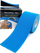 Eranqo® Waterproof Kinesiology Tape (5 m X 5 cm) Latex Free Breathable Athletic Sports Tape For Injury, Muscle Support, Pa...