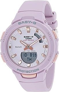 Casio Baby-G Womens Quartz Watch, Analog-Digital Display and Resin Strap - BSA-B100-4A2DR