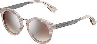 نظارة شمسية بتصميم بيضاوي للنساء من جيمي تشو - باللون البني، بتصميم Pepy-S FWM