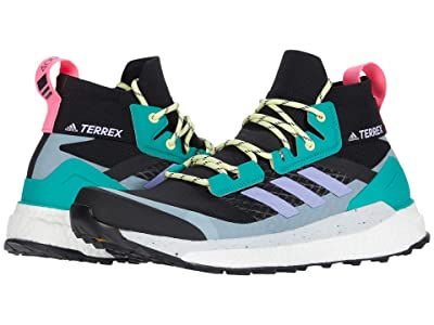 adidas Outdoor Terrex Free Hiker (Black/Light Purple/Glory Green) Men