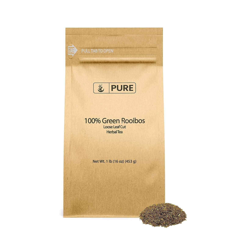Green Rooibos Max 83% OFF Loose Leaf Philadelphia Mall Cut 1 Pure Antioxidants 100% lb Her