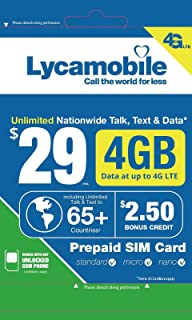 lycamobile data pack