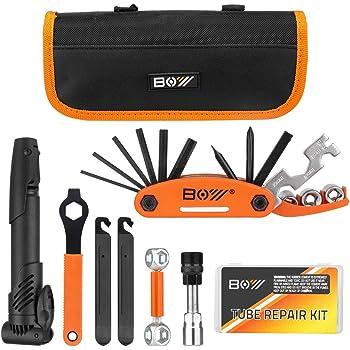 For All Bike Types Bicycle Tool Set Disassembly Repair Repair Tire Repair Tool Combination Portable Pressure Pump