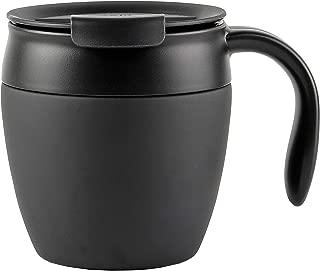 【BLKP】 パール金属 真空 断熱 マグカップ 330ml 蓋付き 限定 ブラック BLKP 黒 AZ-5028