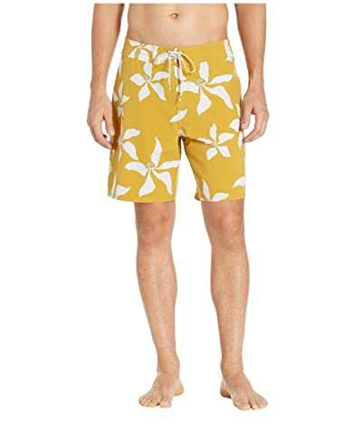 Quiksilver Waterman Falling Blossom Boardshorts (Honey) Men