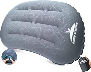 ANT-UNION Ultralight Inflatable Camping Travel Pillow - Fast Inflatable by Pressing - Compressible Pillows for Backpacking...