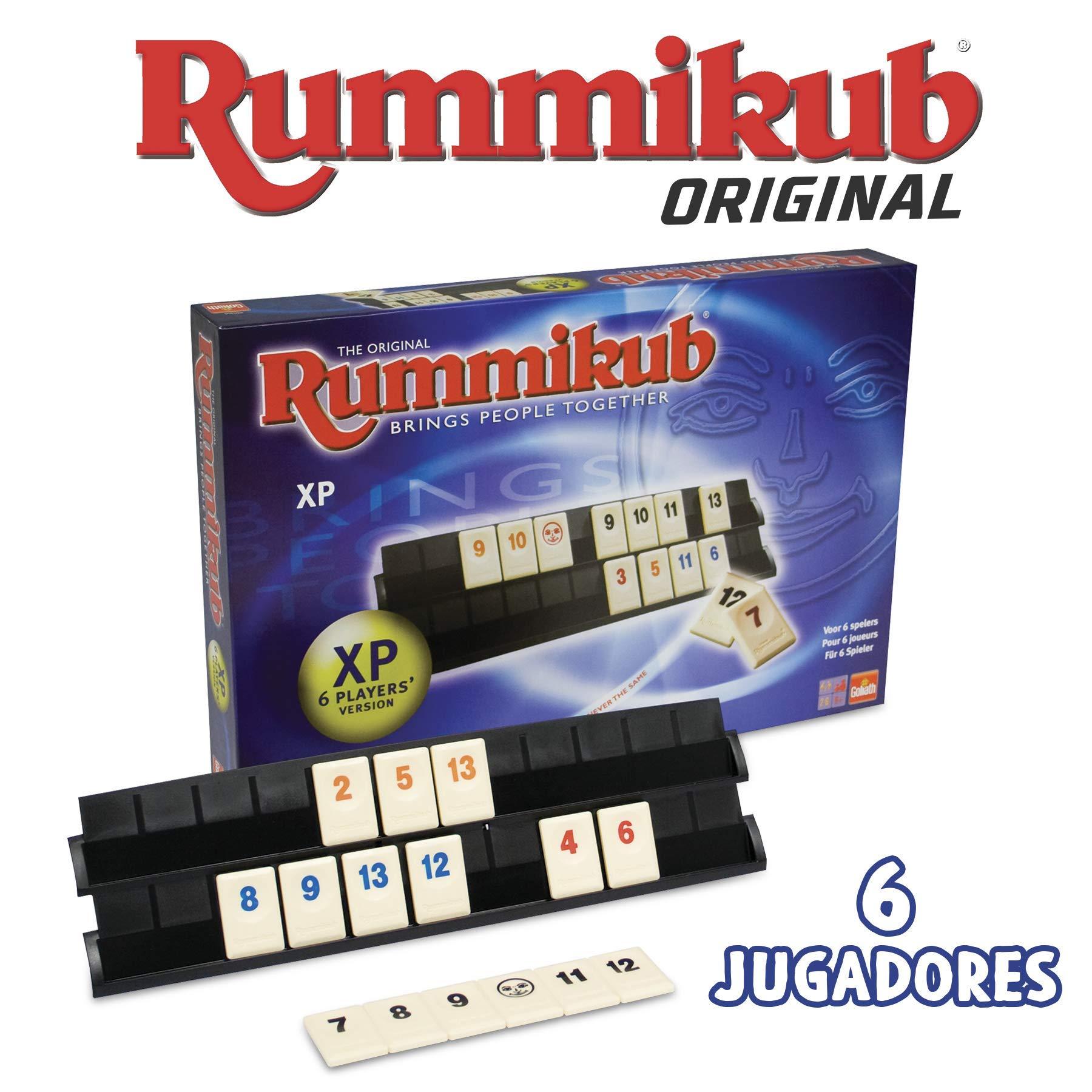 Goliath- Rummikub 6 Jugadores (328009): Amazon.es: Juguetes y juegos