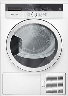 GRUNDIG GTA 38261 G Wäschetrockner, freistehend, Vorderlader, 8 kg, A, Weiß, Wärmepumpe, Drehknöpfe, Anschlag rechts