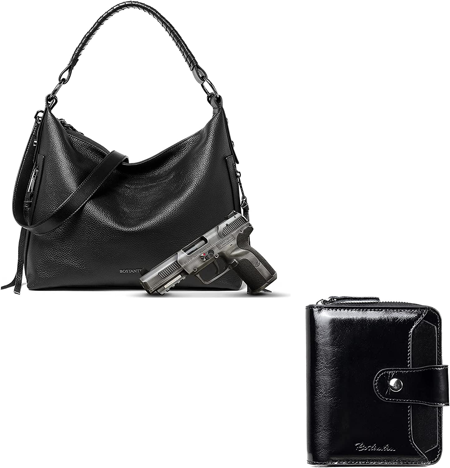 BOSTANTEN Leather Handbags for Women Carry Larg A surprise price is realized Bargain sale Ladies Concealed