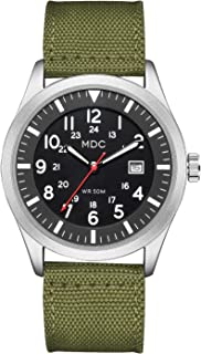 Military Analog Wrist Watch for Men, Mens Army Tactical Field Sport Watches Work Watch, Outdoor...