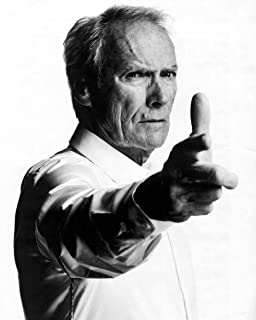 Clint Eastwood 8 x 10 GLOSSY Photo Picture IMAGE #5 * BLACK & WHITE *