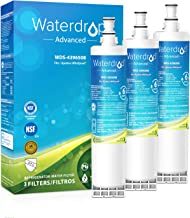 Waterdrop 4396508 NSF 53&42 Certified Refrigerator Water Filter, Compatible with Whirlpool 4396508, 4396510, 4392857, Kenmore 46-9010, NLC240V, EveryDrop Filter 5, EDR5RXD1, PUR W10186668, Pack of 3