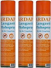 3 x 400 ml Ardap Langzeit Flohspray für die Umgebung Quiko Das Original