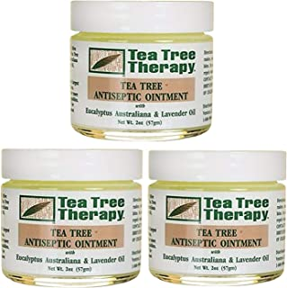 Tea Tree Therapy Tea Tree Antiseptic Ointment, 2 Ounce (Pack of 3)