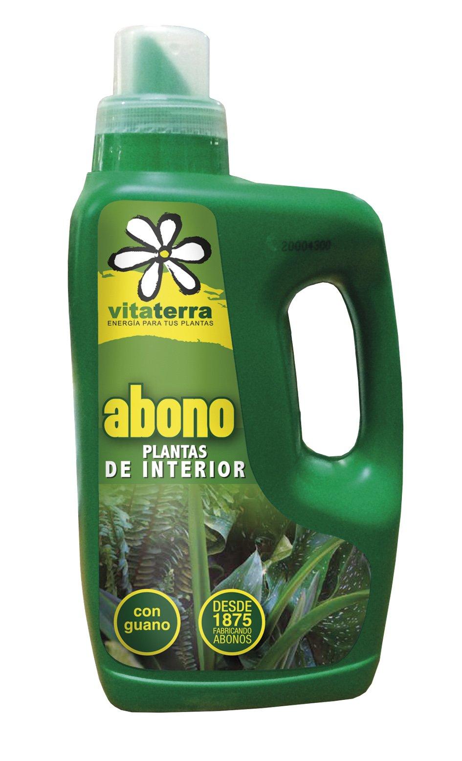 Vitaterra Abono Líquido Plantas de Interior 1 l, 01210: Amazon.es ...
