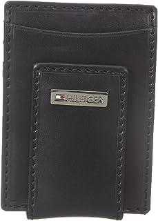 Tommy Hilfiger Men's Leather Slim Front Pocket Wallet