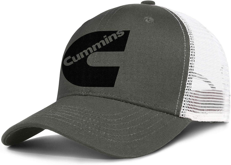 Women Girls Men's Baseball Cap Adult Adjus Cummins-Logo- Max 79% OFF SALENEW very popular Relaxed