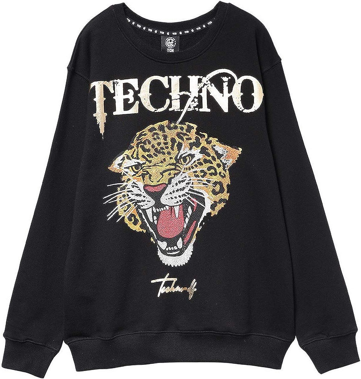 Light Luxury Tide Brand Big C hot Beads Round Neck Sweater Men and Women T203116D02 Money Online