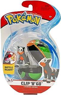 Pokemon Clip 'n'Go Battle Ready Houndour Dusk Ball Poke Action Figure