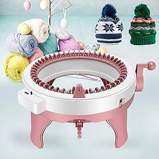 InLoveArts Machine à tricoter, Métier à Tisser Rond, Métier à Tisser Intelligent à Tisser à 48 Aiguilles, Tissage pour Tri...