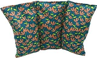 """Cuscino termico noccioli ciliegia """"Fiori - Verdi"""" - 26 x 16 cm (M / L) - pieno di noccioli di ciliegia 330gr - effetto fre..."""