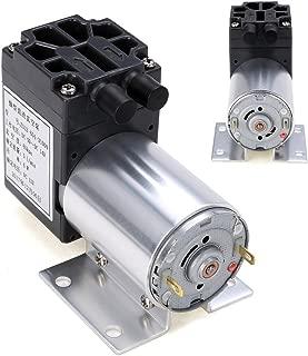 12V 6W Mini Vacuum Pump High Pressure Electric Diaphragm Pump with Holder 5L/min