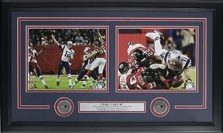 Tom Brady Julian Edelman Framed New England Patriots Super Bowl 51 The Catch Collage
