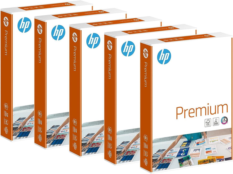 HP CHP 852 Premium Druckerpapier 90 g, DIN-A4, DIN-A4, DIN-A4, 2.500 Blatt, weiß, extraglatt, 5 Pack = 1 Karton B07CGS8XGS | Haltbarer Service  217dde