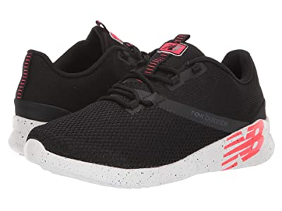 New Balance CUSH+ District Run (Black/Energy Red) Men