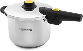 Royalford Stainless steel Induction Pressure Cooker 4L Silver