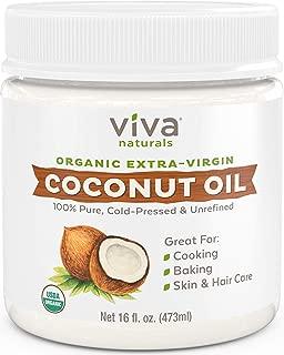 Mejor Aceite De Coco Organico Extra Virgen Para La Cara, Masajes Y El Cabello
