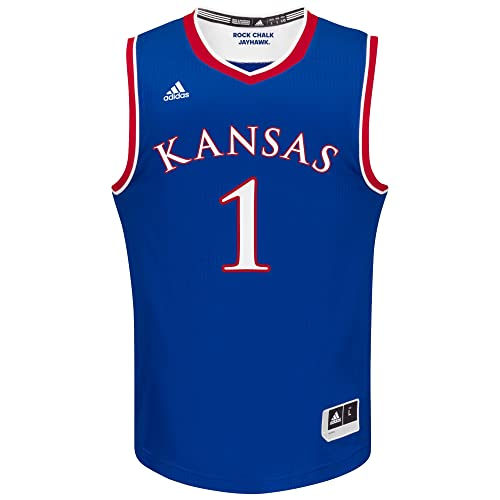 f569ee4bd48 Kansas Jayhawks Basketball Jersey  Amazon.com