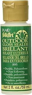 FolkArt Outdoor Sealer (2-Ounce), 895 Gloss
