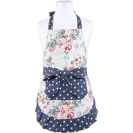 Kids Apron Polka Dot Apron Children/'s Apron Toddler Apron Little Girls Apron Girl Apron Cooking Apron Baking Apron Retro Style Apron