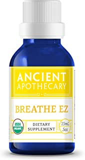Breathe EZ Organic Essential Oil from Ancient Apothecary, 15 mL - 100% Pure and Therapeutic Grade