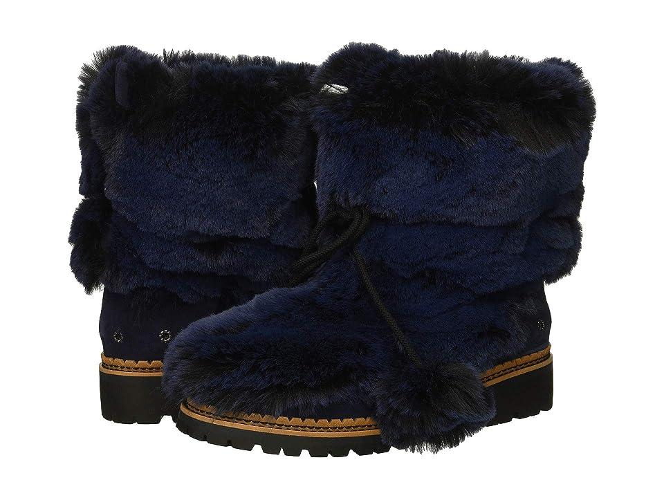 Sam Edelman Blanche (Blatic Navy Opulent Fur/Velutto Suede Leather) Women